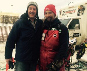Ron and Musher Lance Mackay 4 time champion)