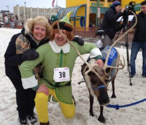 Running with the Reindeer