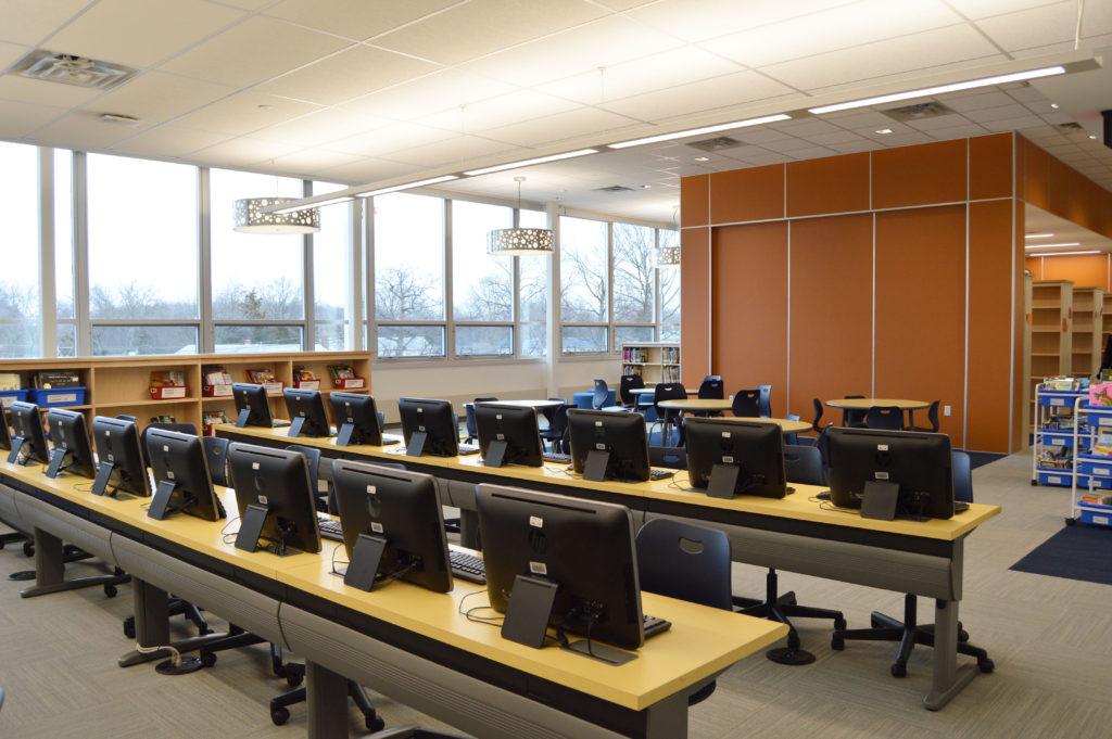 Second floor Media Center